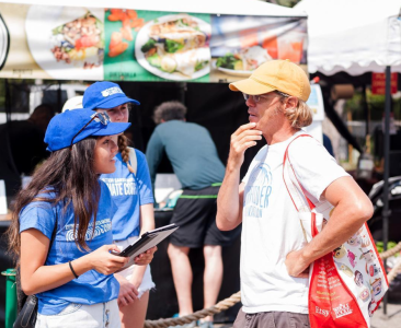 Climate Corps at the Farmer's Market